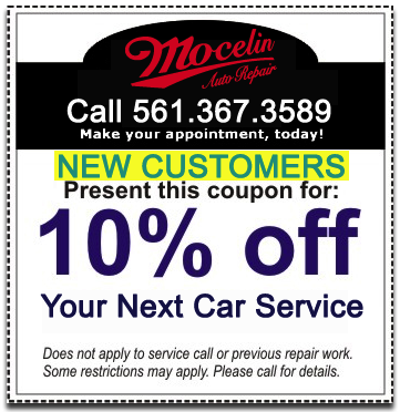 Auto Repair Coupon on Boca Raton Auto Repair Boca Raton Car Repair Auto Mechanic