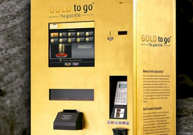 Gold ATM Machine by Gold-To-Go.com in Town Center Mall in Boca Raton, FL