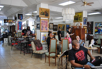 Grace Cafe Art Festival Dania Beach