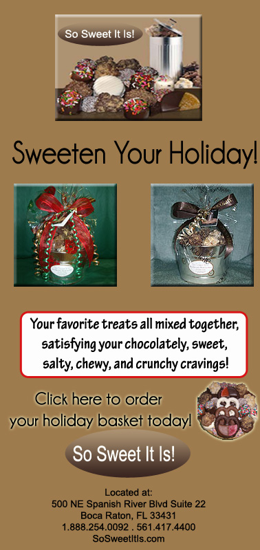 Boca raton gift baskets unique premium party favors and gifts in holiday gift baskets negle Images