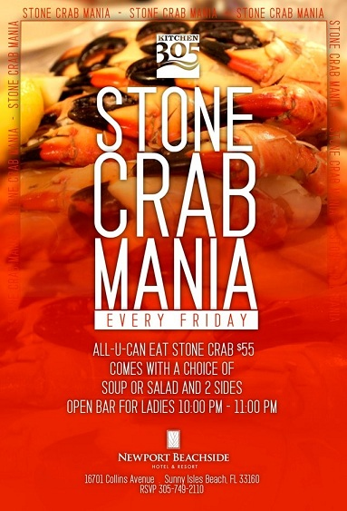 All You Can Eat Stone Crabs Miami