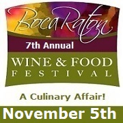 Boca Wine and Food Festival November 2016