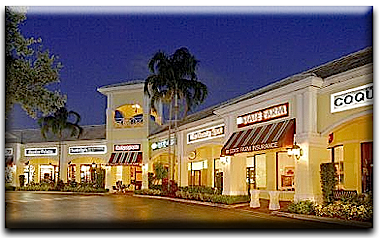 Regency Court Ping Mall At Woodfield Country Club In Boca Raton Florida