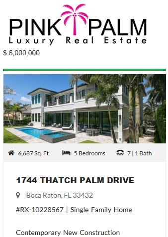 Royal Palm Homes for Sale