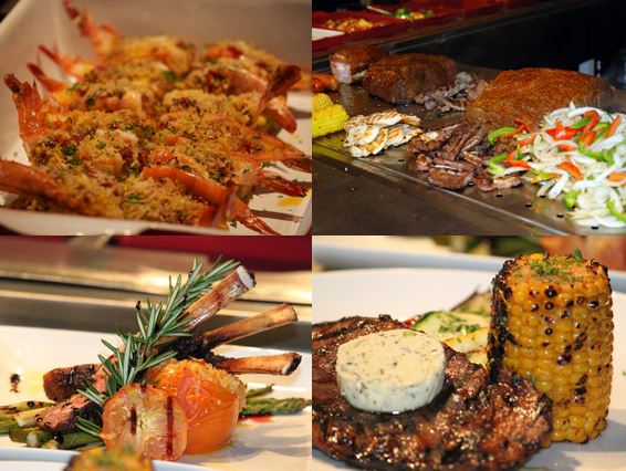 SanTos Buffet meats